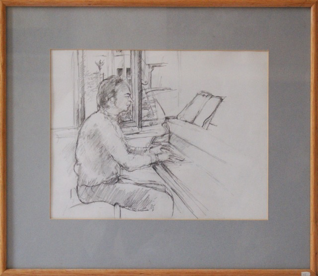 Drawing of John Barret  £100 Pencil on paper 37cm x29cm